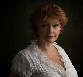Fineart portraits with Brigitte